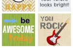 Rockin' Awesome Lunchbox Love Notes