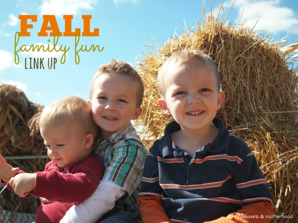 Fall Family Fun link up; www.makeoversandmotherhood.com