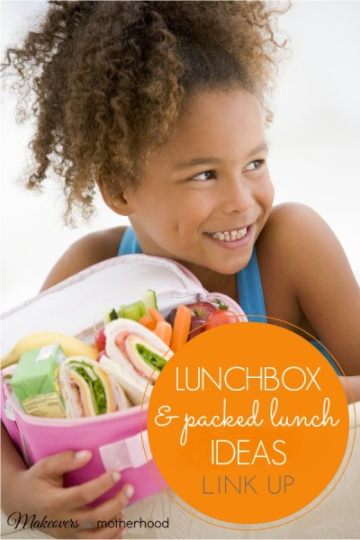 Lunchbox & Packed Lunch Ideas link up; www.makeoversandmotherhood.com