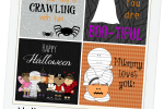 Halloween Lunchbox Love Notes