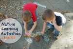 Nature Learning Activities Link Up