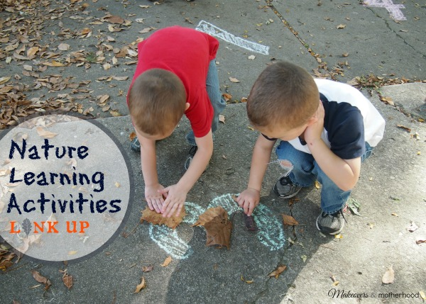 Nature Learning Activities link up; www.makeoversandmotherhood.com