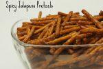 Spicy Jalapeno Pretzels