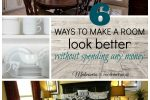 Make a Room Look Better Without Spending a Dime