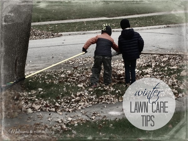 Tru-Green Winter Lawn Care Tips; www.makeoversandmotherhood.com