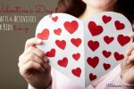 Valentine's Day Kid Crafts & Activities Link Up