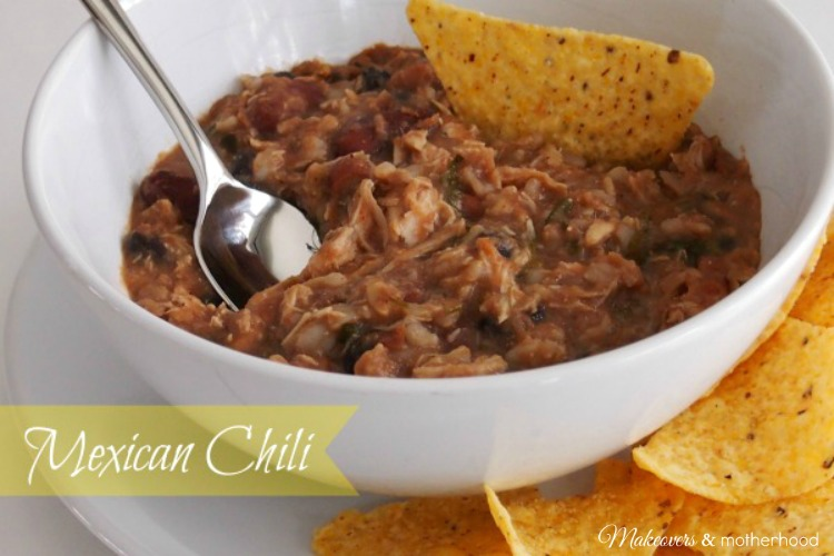 Mexican Chili: www.makeoversandmotherhood.com
