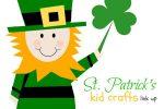 St. Patrick's Kid Crafts Link Up