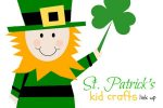 St. Patrick's Kid Crafts Link Up