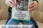 DIY Alphabet Book; www.makeoversandmotherhood.com