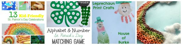 St. Patrick's Day round up collage #1
