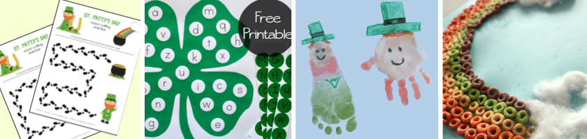 St Patty's Day crafts 1-4