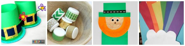 St. Patrick's Day round up collage #2