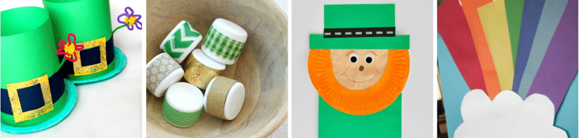 St Patty's Day crafts 5-8