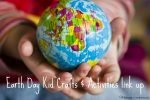 Earth Day Kid Crafts & Activities Link Up