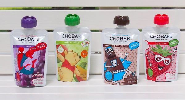Chobani Kids Greek Yogurt pouches; www.makeoversandmotherhood.com