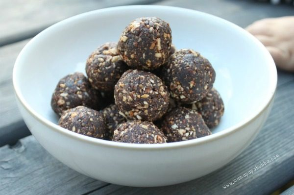 Chocolate Almond Bliss Balls -- cropped