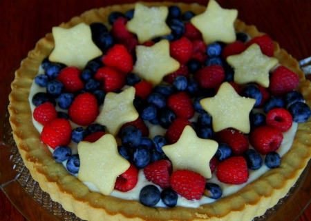 Red White Blue Tart - Meaningful Mama
