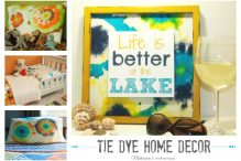 Tie Dye Home Decor