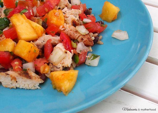 Luau Boats Hawaiian mixed plate