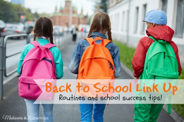 Back to School Link Up; www.makeoversandmotherhood.com