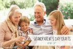 Grandparent's Day Craft Link Up; www.makeoversandmotherhood.com