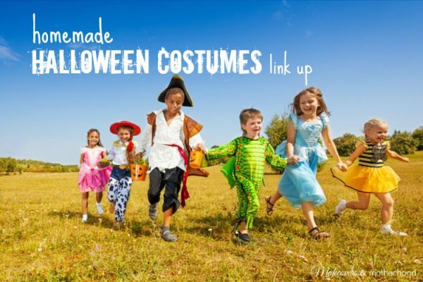 Homemade Halloween Costumes Link Up; www.makeoversandmotherhood.com