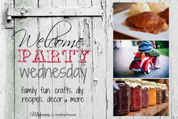Welcome Party Wednesday Link Up