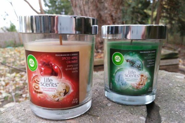 Air Wick candles; www.makeoversandmotherhood.com
