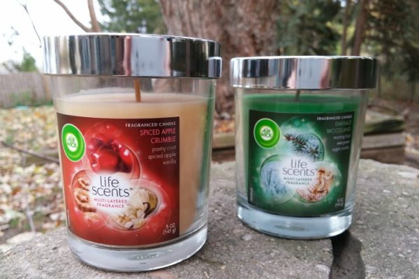 Air Wick candles; www.makeoversandmotherhood.com