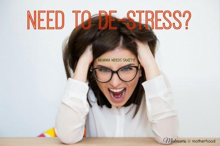 Need to De-Stress?
