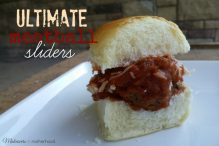 Ultimate Meatball Sliders