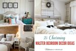 Decor Ideas for the Master Bedroom; www.makeoversandmotherhood.com