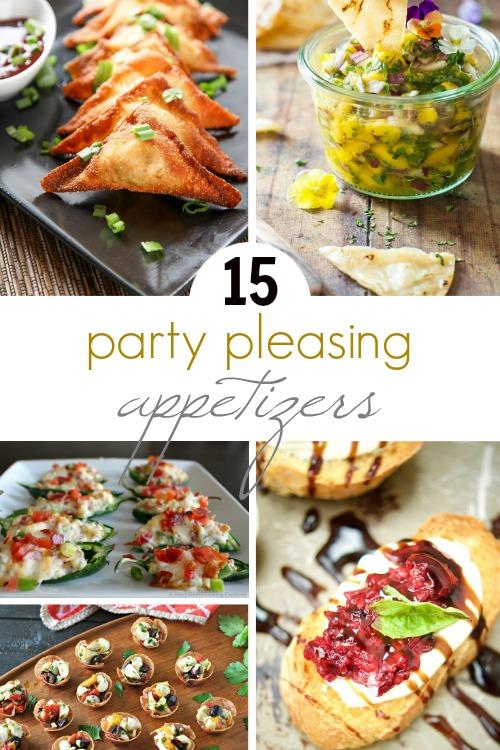 Party Pleasing Appetizers; www.makeoversandmotherhood.com