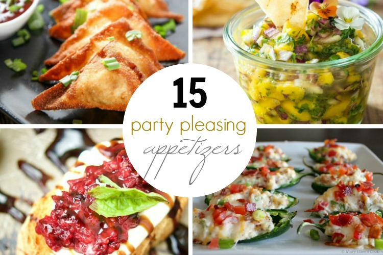 Party Pleasing Appetizers; www.makeoversandmotherhood.com