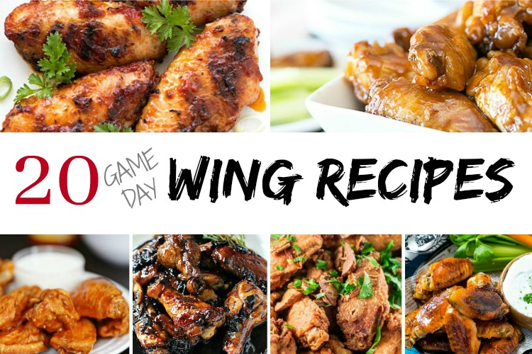 20 awesome game day wing recipes!
