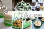 Shamrockin' St Patrick's Day Desserts; www.makeoversandmotherhood.com
