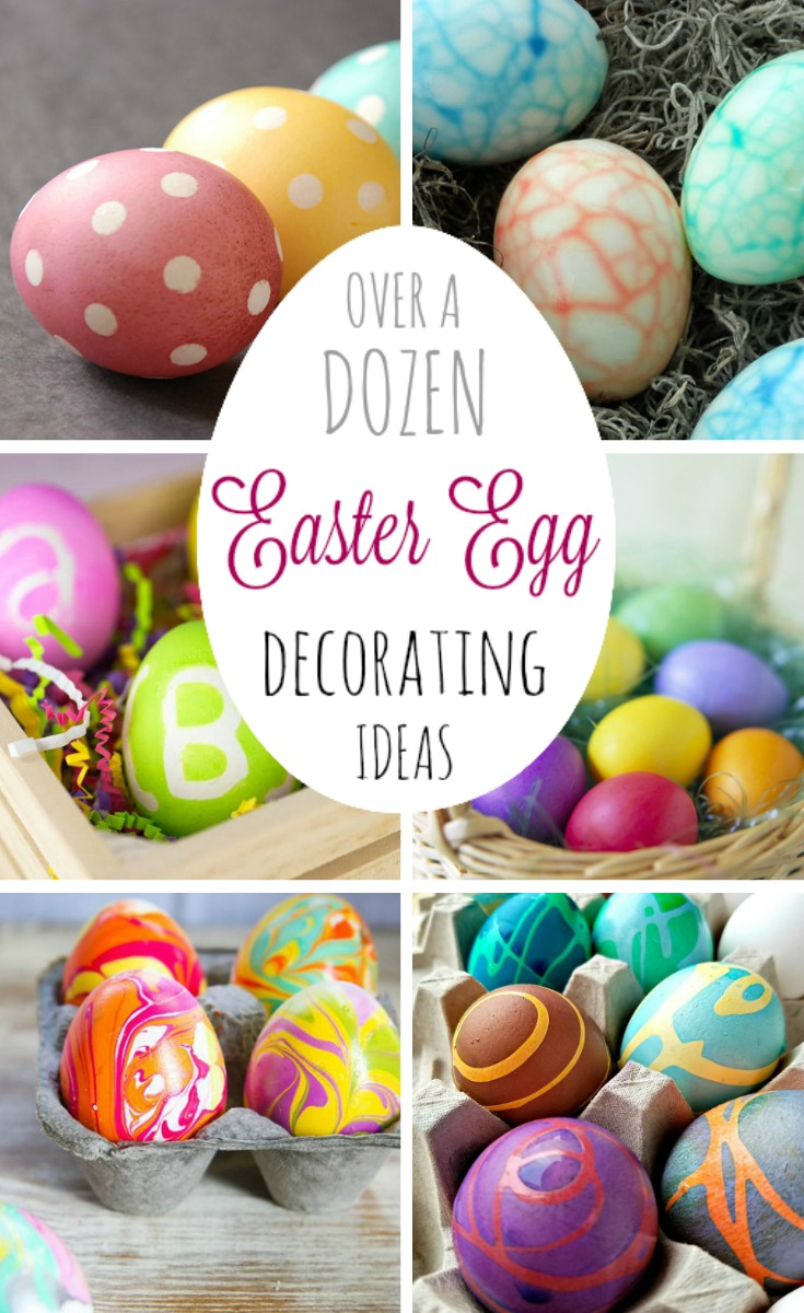 Easter Egg Decorating -- Pinterest pinnable image