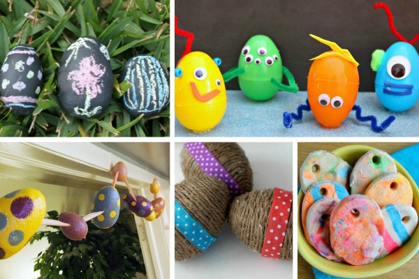 Easter egg decorating ideas makeovers and motherhood for Easter egg ideas