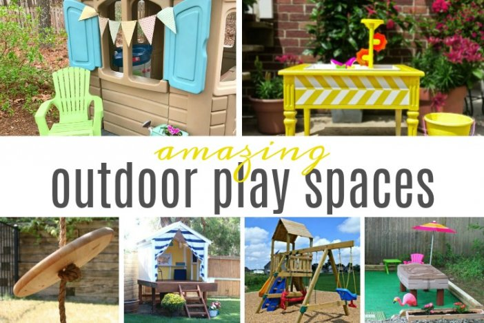 Amazing Outdoor Play Spaces