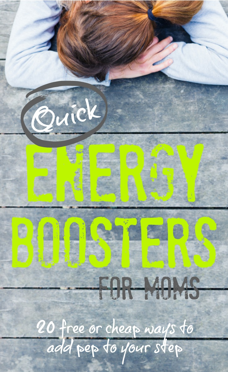 Quick Energy Boosters for Moms