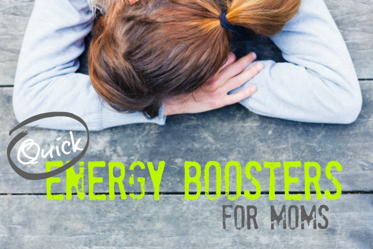Quick Energy Boosters for Moms; www.makeoversandmotherhood.com