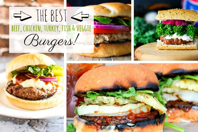 Burger recipes; www.makeoversandmotherhood.com