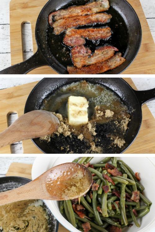 Bacon & Brown Sugar Green Beans
