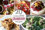Cranberry Recipe Round-Up; www.makeoversandmotherhood.com