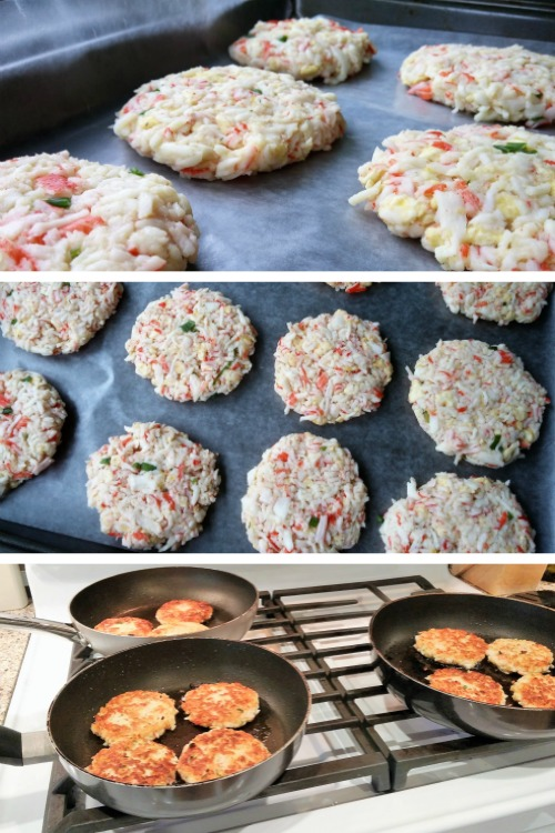 Kickin' Crab Cakes; www.makeoversandmotherhood.com