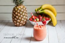 Tropical Sunrise Smoothie
