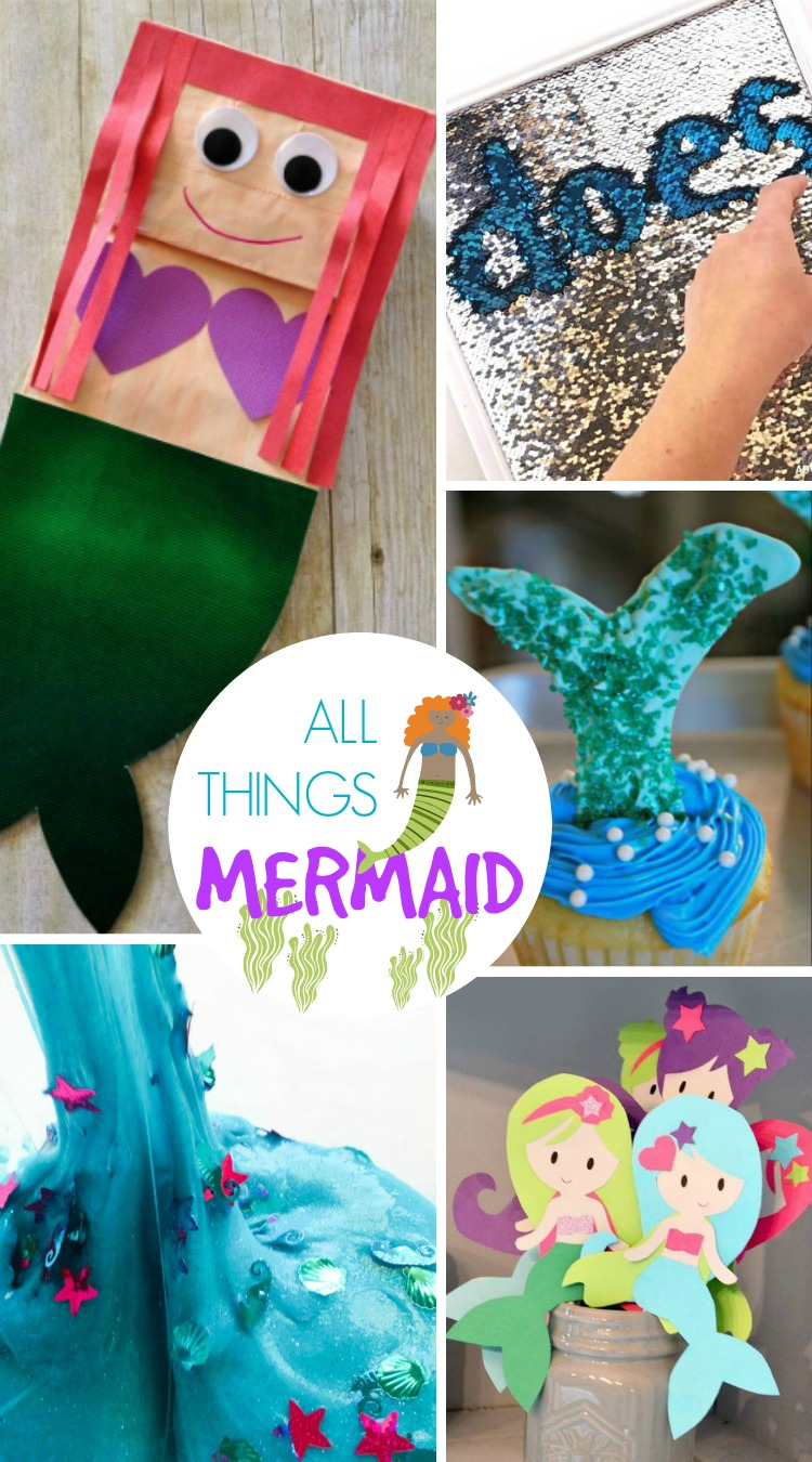 All Things Mermaid; www.makeoversandmotherhood.com