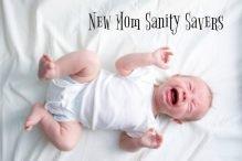 New Mom Sanity Savers