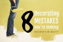 Common Decorating Mistakes